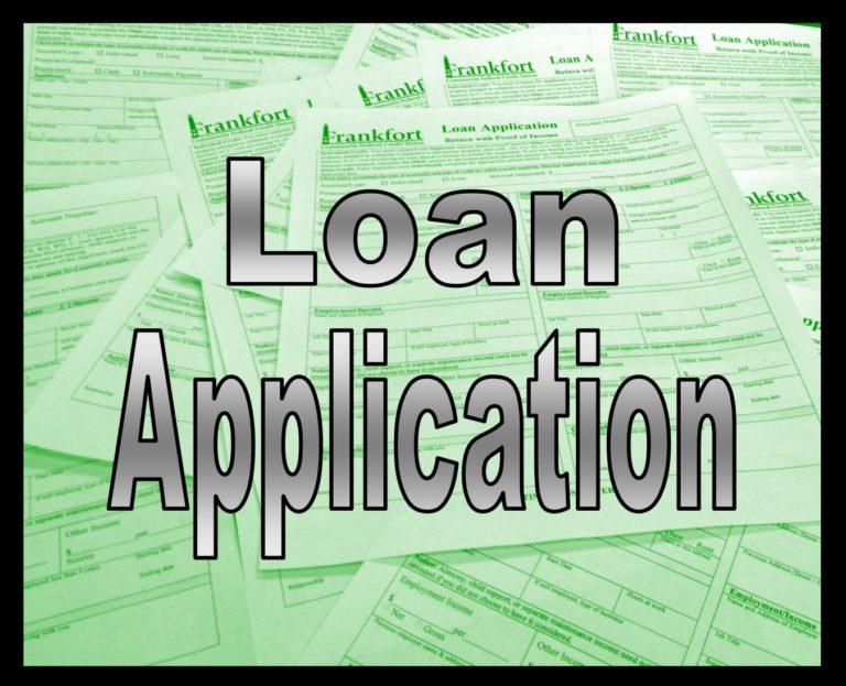 loan app button
